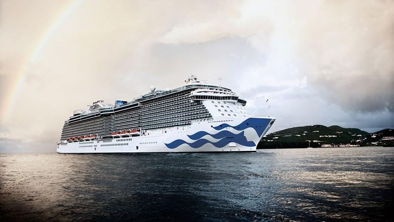 The Royal Princess. Princess Cruises has canceled its deployments through  March.