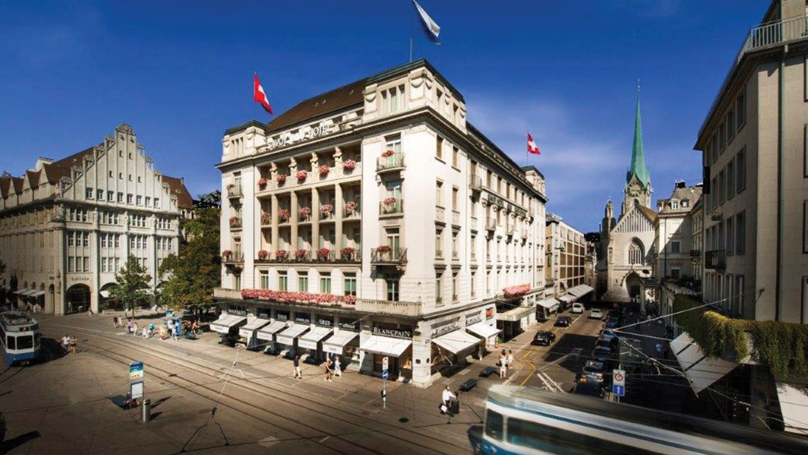 Mandarin Oriental will revamp and manage historical Zurich hotel