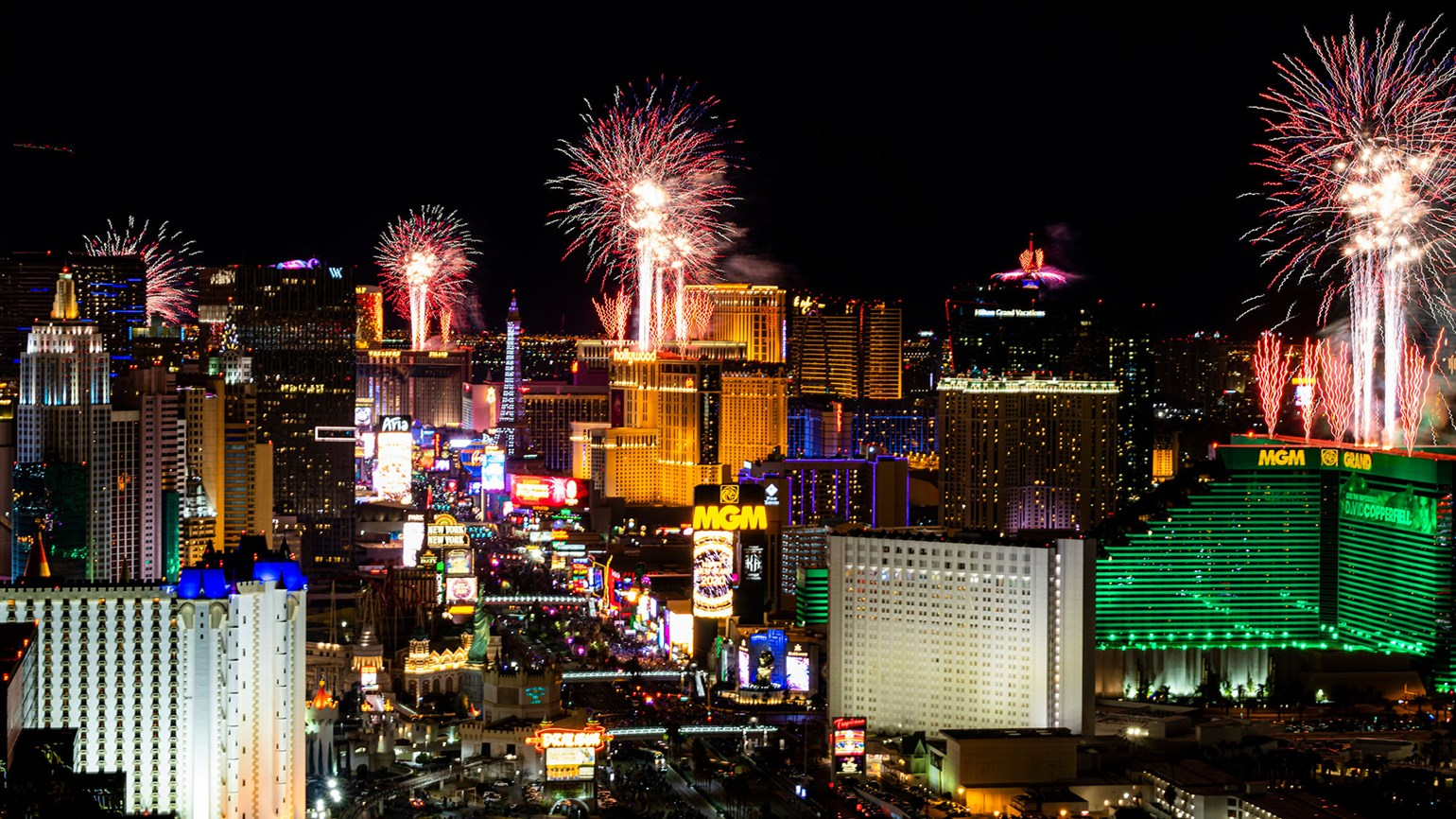 An 'Auld Lang Syne' of the times: A quiet New Year's Eve on the Strip