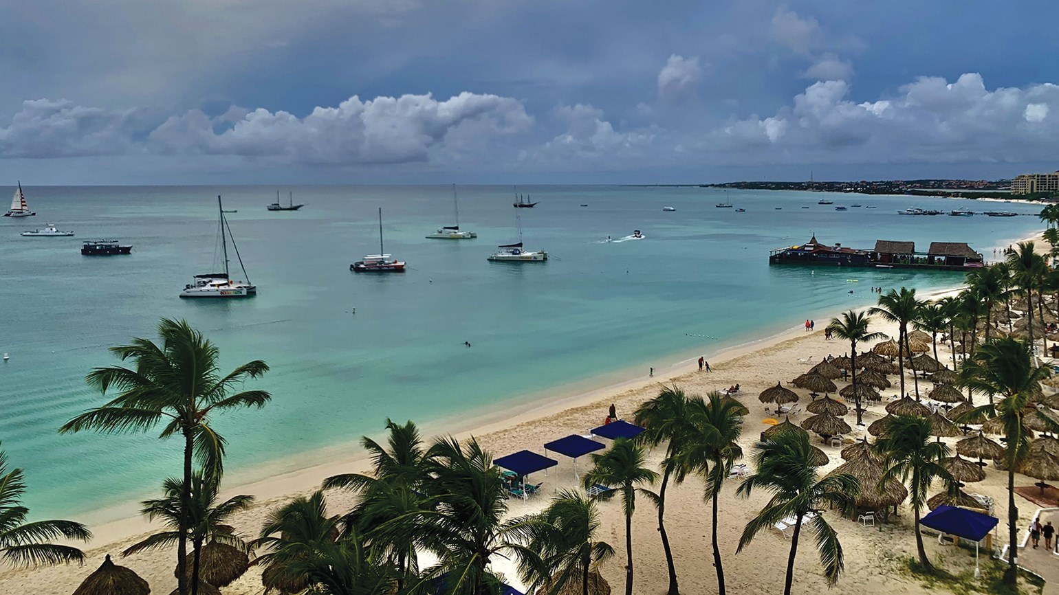 Aruba offers a satisfying take on the 'pandemic pivot'