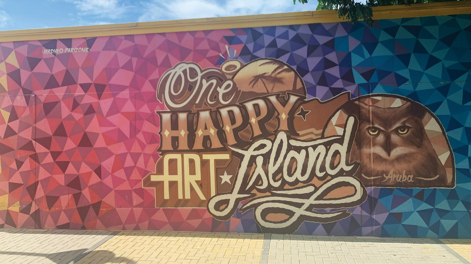 Picturing happiness on an Aruba mural tour