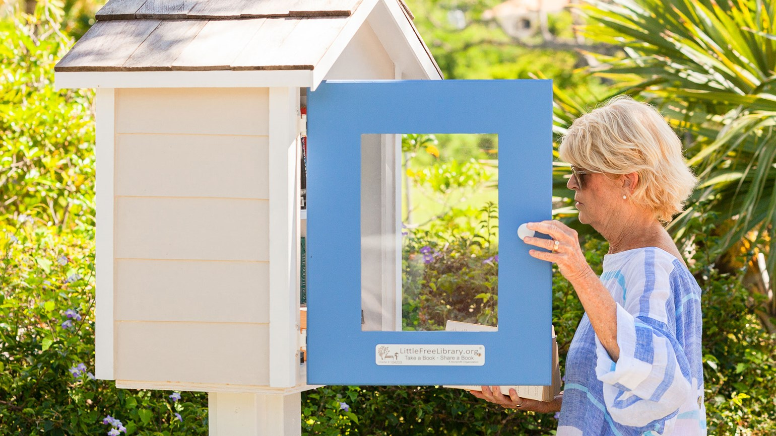 Nevis offers Little Free Libraries for visitors and residents