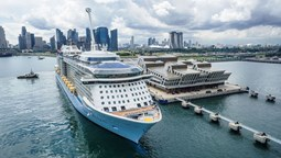 Royal Caribbean resumes cruising with Singapore departure