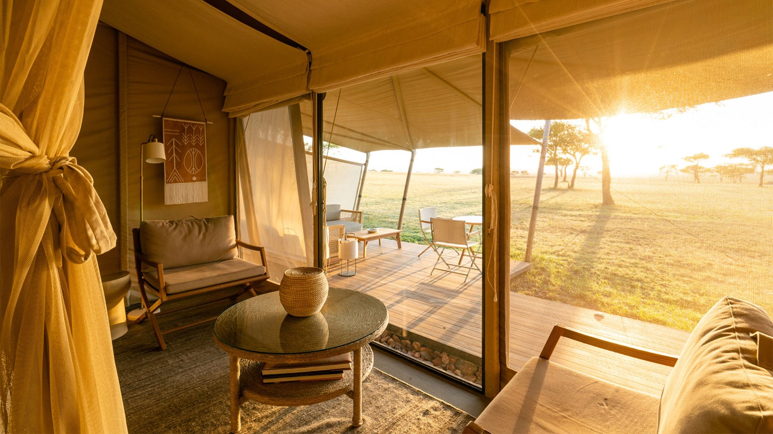 Singita reopens renovated tented camp in Tanzania