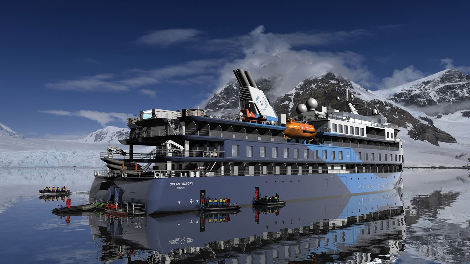 Victory Cruises postpones the debut of its expedition ship to 2022