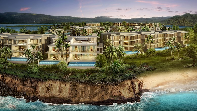 Susurros del Corazon will sit on 33 acres overlooking the Bay of Banderas from the beachfront of Punta de Mita.