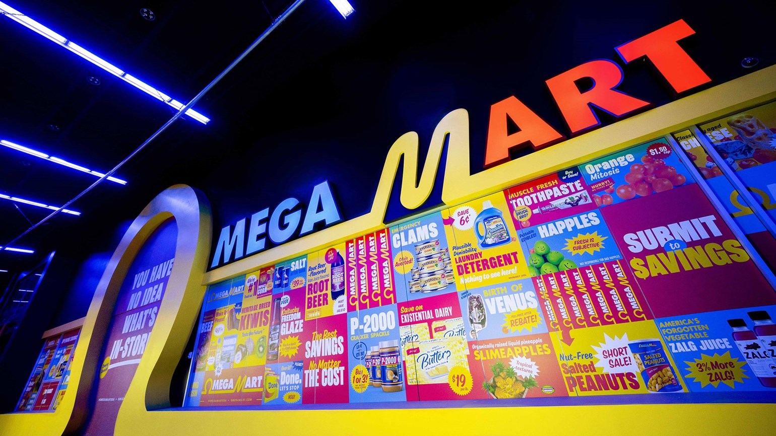 Omega Mart brings an 'immersive art experience' to Meow Wolf in Las Vegas