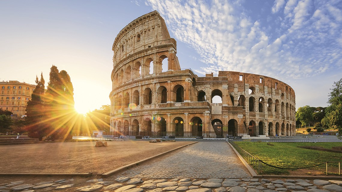 Italy will rebuild the floor of the Colosseum