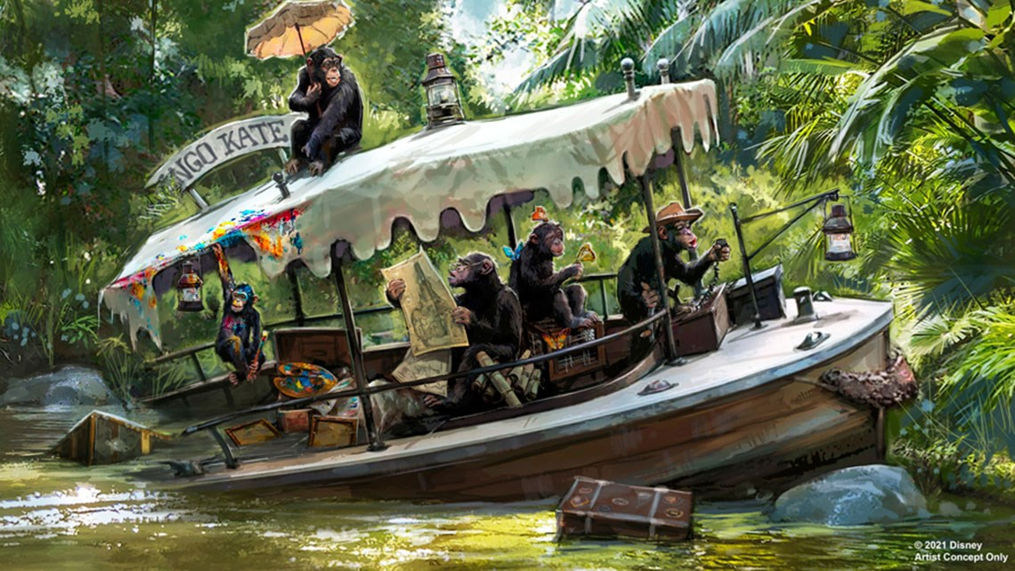 Disney's Jungle Cruise gets with the times