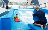 The Flowrider on a Quantum of the Seas cruise out of Singapore, which launched in December 2020.