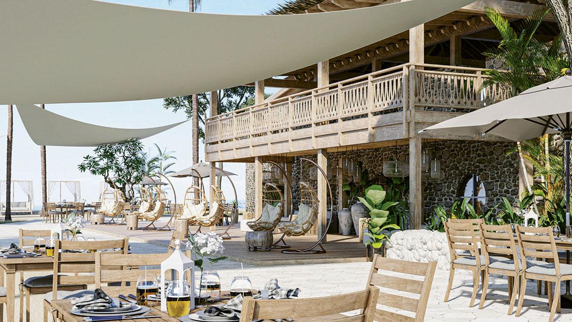 El Long Bay Resort en Tortola, que reabre este mes, ofrecerá cenas en su restaurante 1748.
