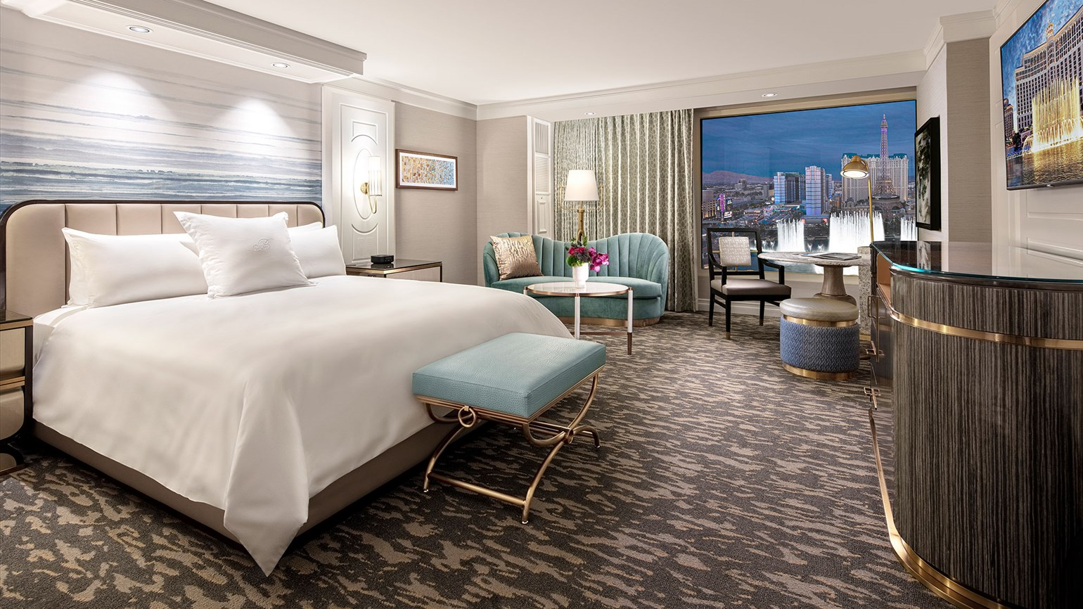A fresh look for the Bellagio in Las Vegas
