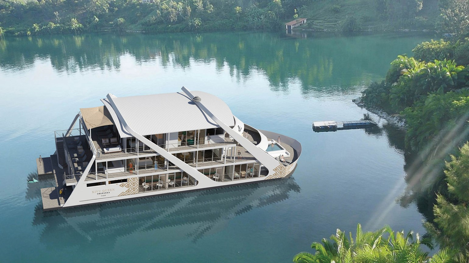 Mantis is launching a 'floating hotel' in Rwanda