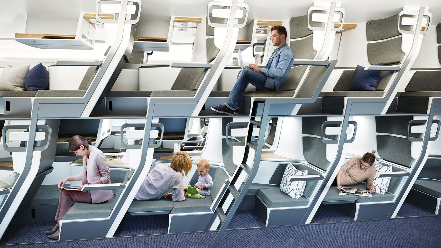 Here's the pitch: Lie-flat seats in premium economy