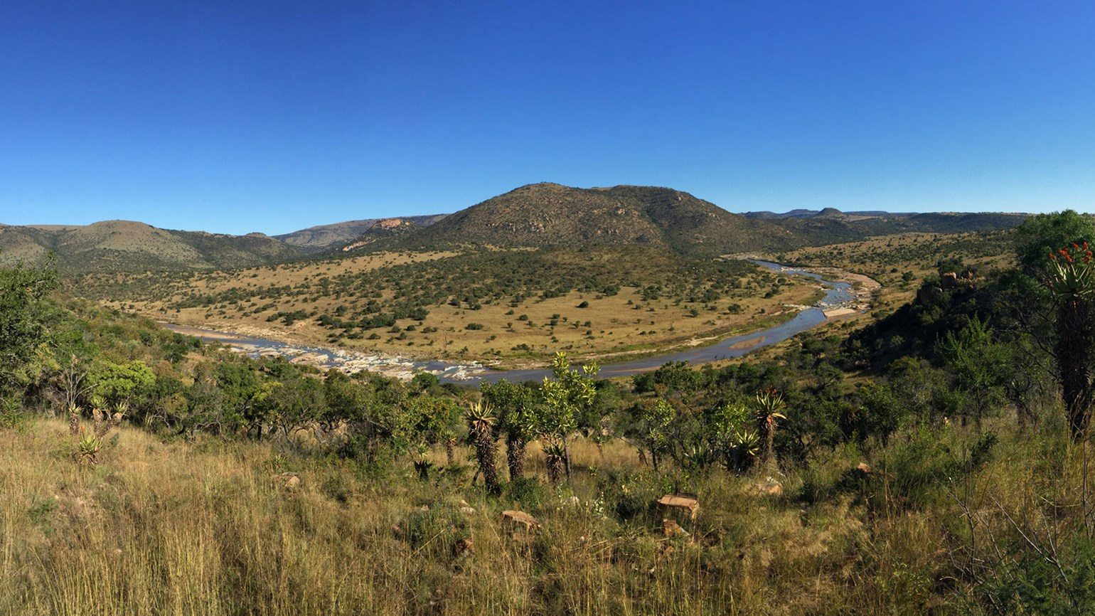 One of South Africa's newest game reserves takes form
