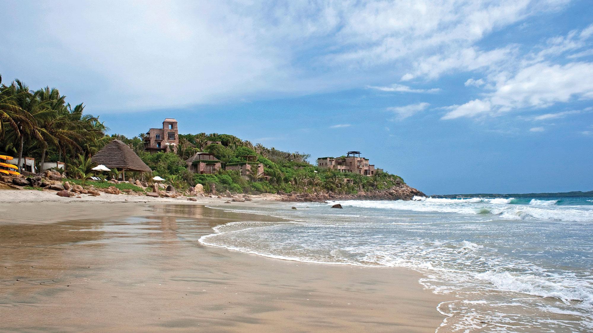 The Playa Hotel Imanta in Punta de Mita in Nayarit. Imanta Resorts are among those offering Covid testing on site.