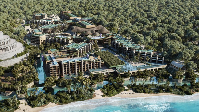 Hotel Xcaret Arte is set to open July 1.