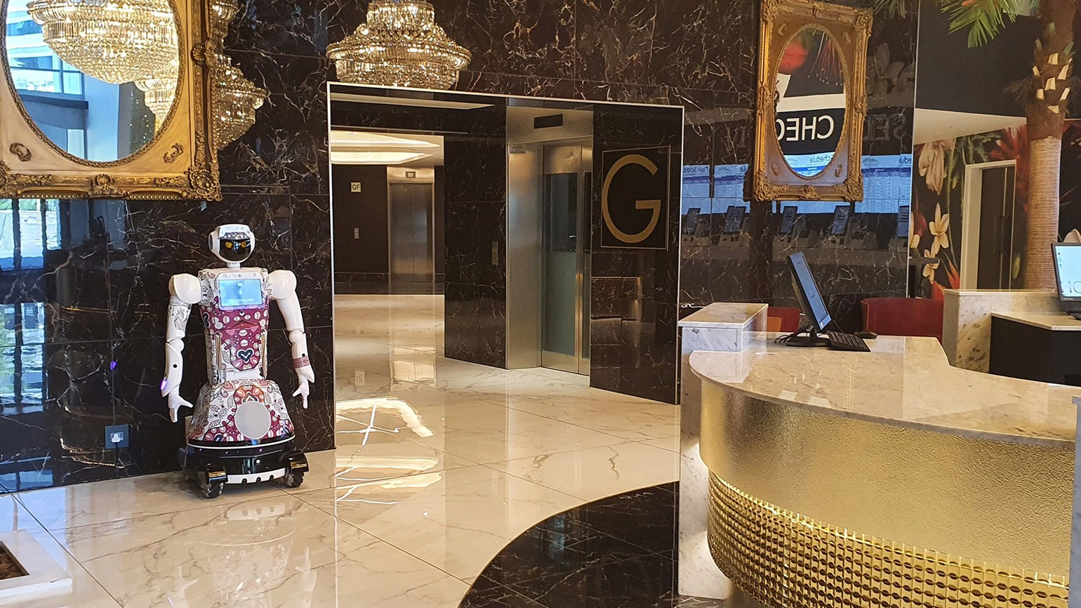 Hotel Sky Sandton introduces robot staff