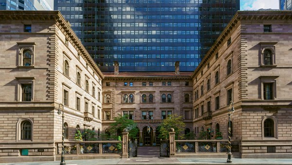 Demand is starting to pick up at Manhattan hotels like the Lotte New York Palace, particularly summer bookings.