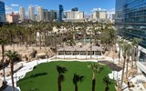 Virgin Hotels Las Vegas' Event Lawn sits atop what was once the Hard Rock's Rehab pool.