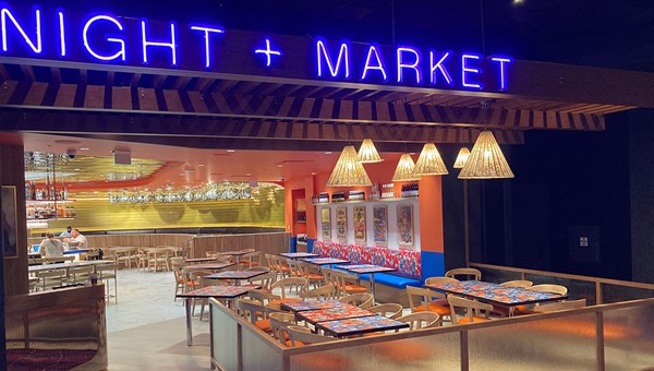 Night + Market is a Thai fusion concept from chef Kris Yenbamroong, whose Los Angeles restaurants have been critically lauded.