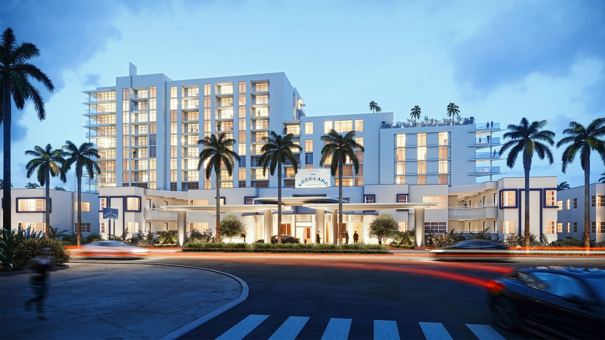 Kimpton Goodland Hotel opens on the site of a Fort Lauderdale landmark