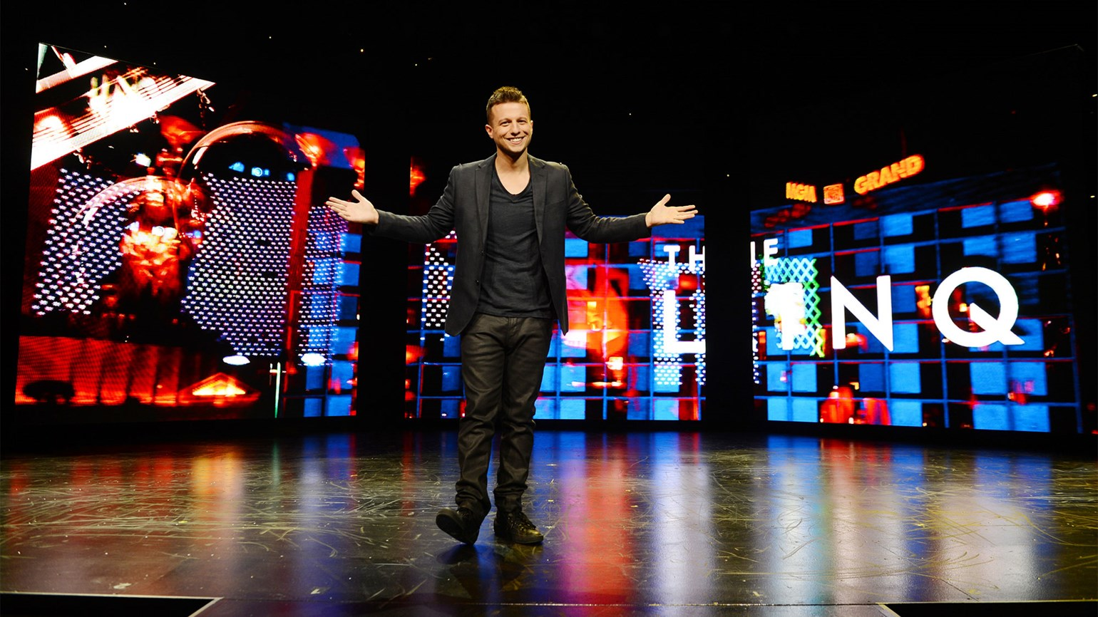 Magician Mat Franco reappears at the Linq