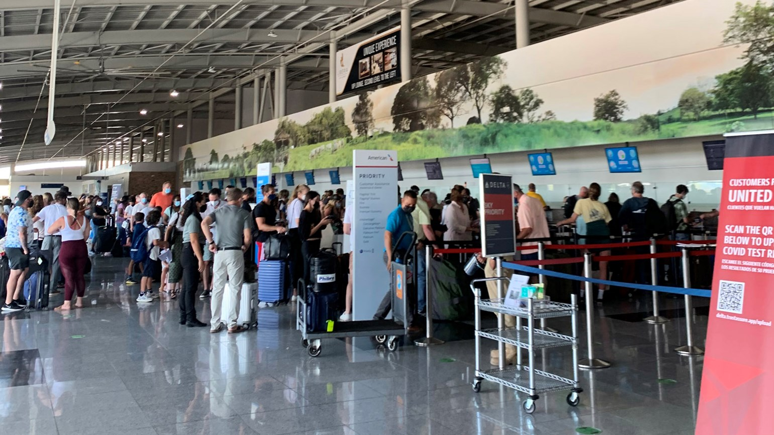 Dispatch, Costa Rica: The frustrations of flying