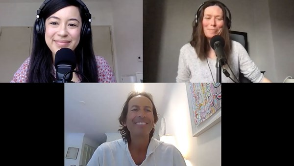 The Folo by Travel Weekly's talk about the hotel labor shortage, from top left: Christina Jelski, Travel Weekly's hotels reporter; managing editor Rebecca Tobin; and David Sherwyn, a professor and hospitality expert at Cornell University.