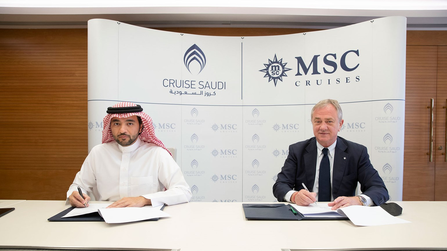 MSC Cruises will sail from Saudi Arabia this winter