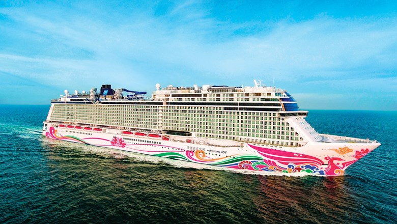 The Norwegian Joy, which will operate from Montego Bay, Jamaica, this summer.