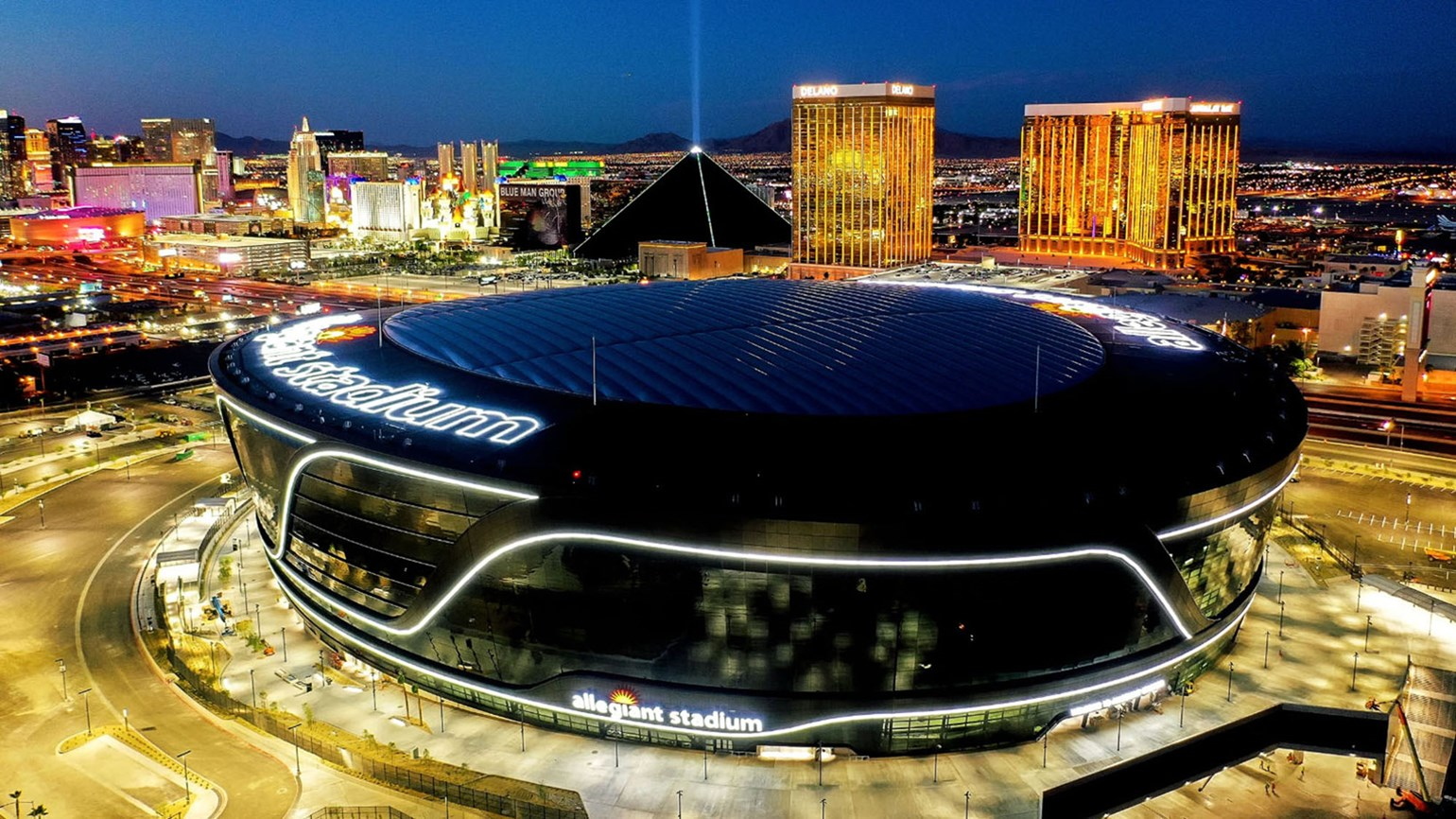 Tours offer an inside look at Vegas' Allegiant Stadium