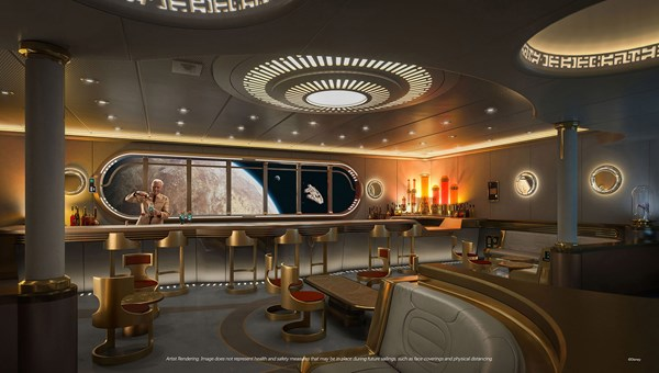 The adults-only Star Wars: Hyperspace Lounge will serve drinks and bites inspired by the
