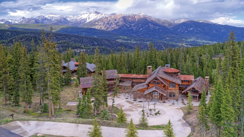 A Villas of Distinction lodge accommodation in Montana. Demand and pricing are tracking at higher levels than 2019, the company's CEO said.