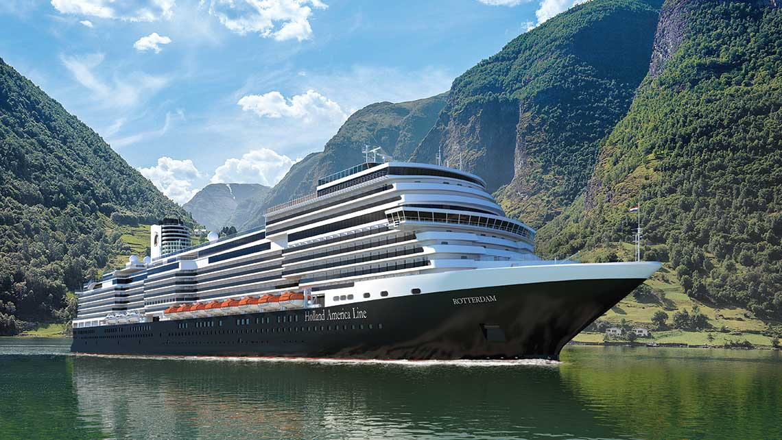 Meanwhile, Holland America Line's Rotterdam, set for delivery on July 30, 2021, the seventh HAL ship to bear the Rotterdam name, will recreate the maiden voyage of the line's first vessel, the Rotterdam 1, with a 12-day, 150th Anniversary Transatlantic on Oct. 15, 2022.