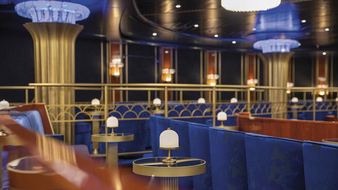 Broadway stars will perform in the Regent Seven Seas Splendor's theater.