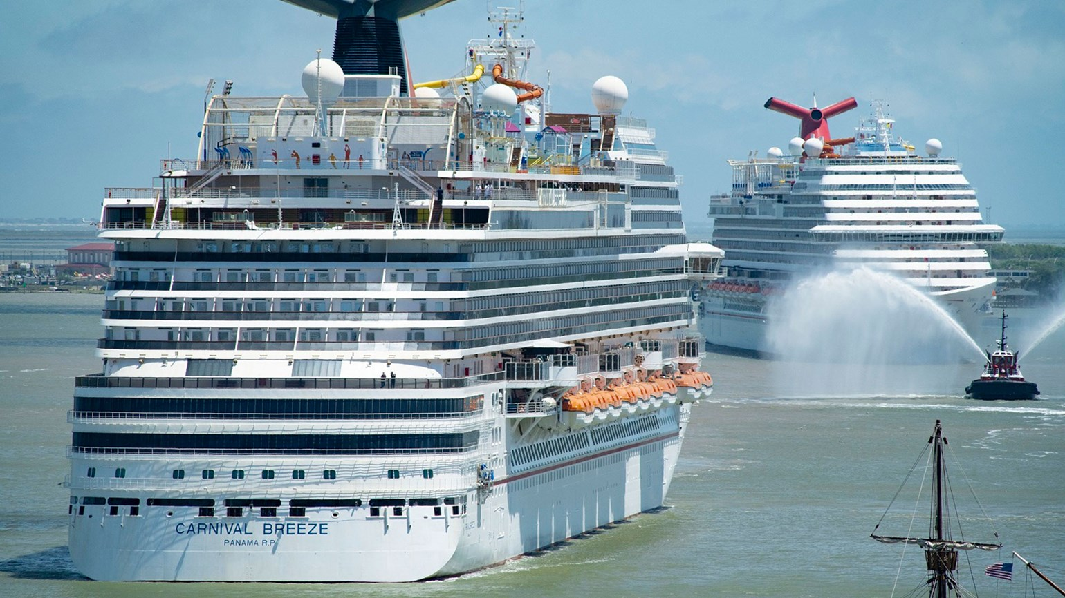 Carnival plans to restart cruises on three ships in July