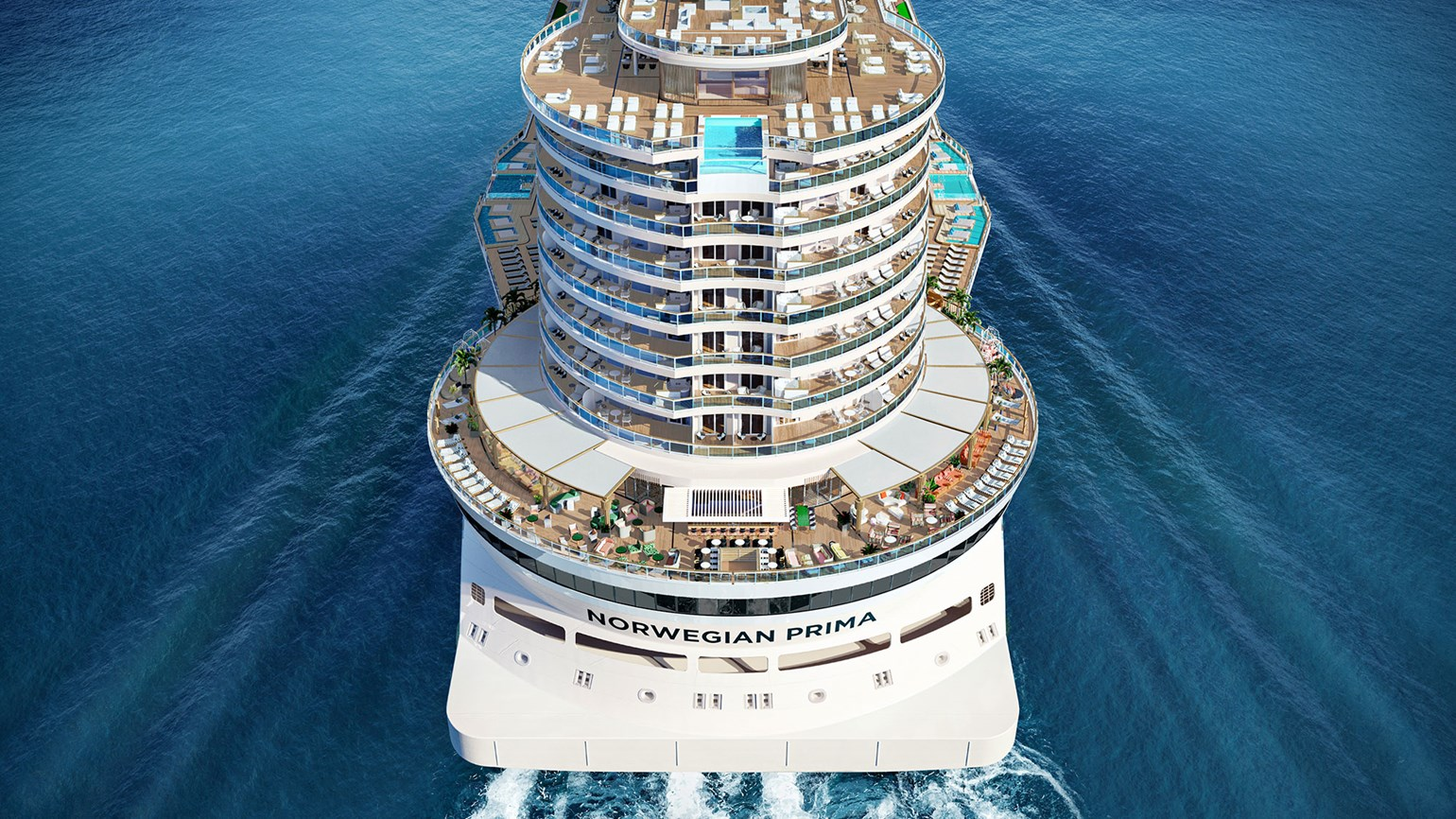 Details of Norwegian Prima revealed: Outdoor space, bigger cabins