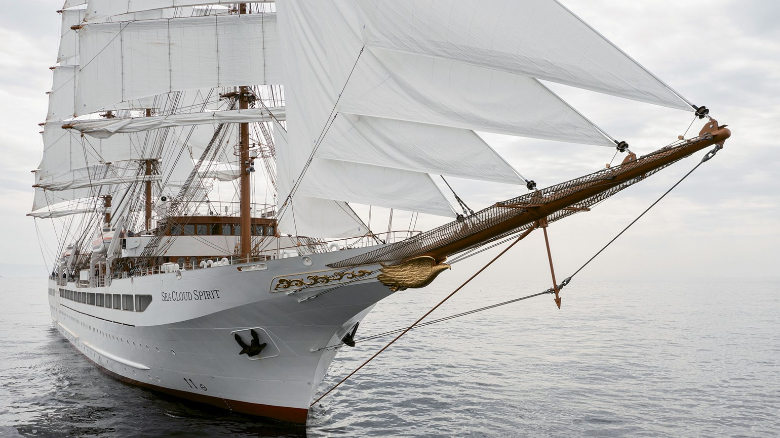 Long-awaited Sea Cloud Spirit to set sail in September