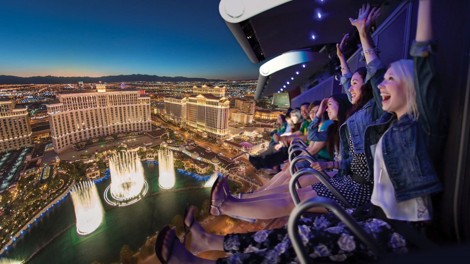 Virtual flight attraction coming to Las Vegas