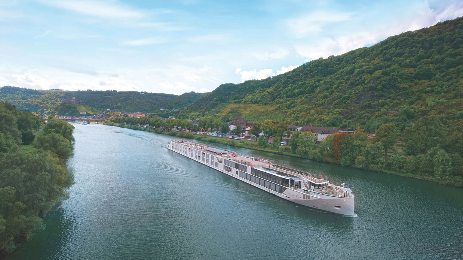 Crystal River Cruises' 2023 Europe lineup boasts more variety than ever before