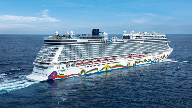 The Norwegian Encore. The company reported that pricing for the second half of 2021 is in line with prepandemic levels.