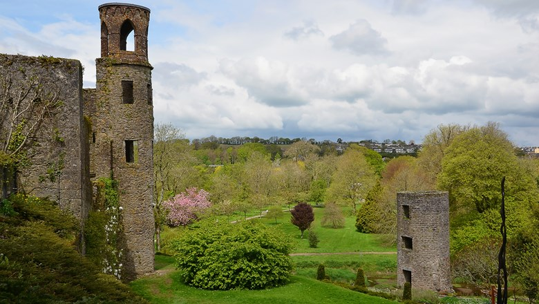 Ireland arrivals were up 18% this summer, according to ForwardKeys. Pictured, part of Blarney Castle.