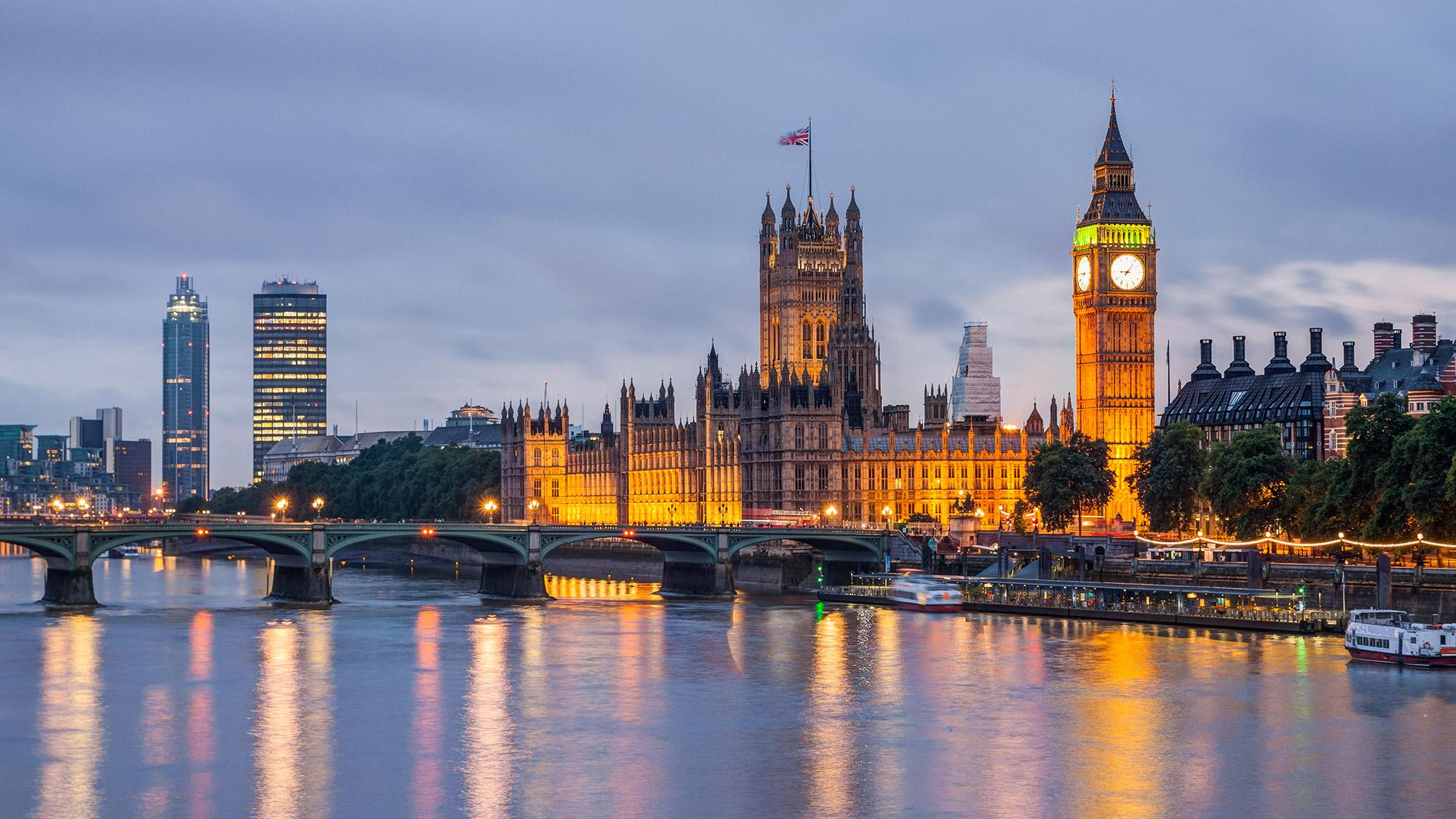 London at dusk [Credit: Bucchi Francesco/Shutterstock.com]