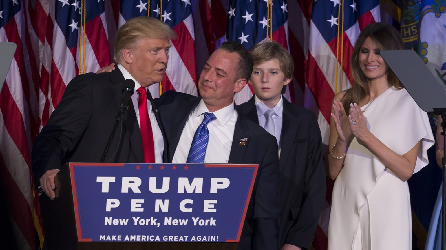 Donald Trump and Reince Priebus