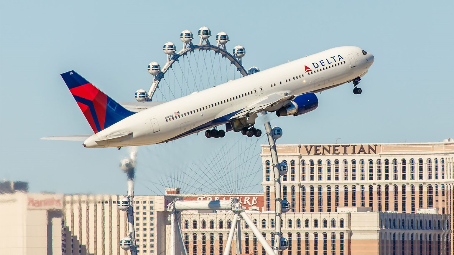 Delta in Vegas [Credit: Chris Parypa Photography/Shutterstock.com]