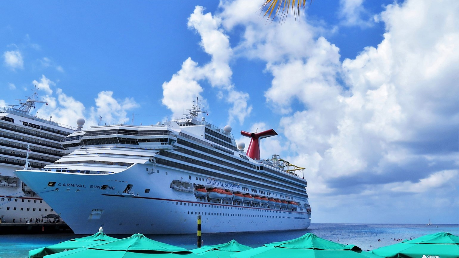 Carnival Sunshine in Grand Turk