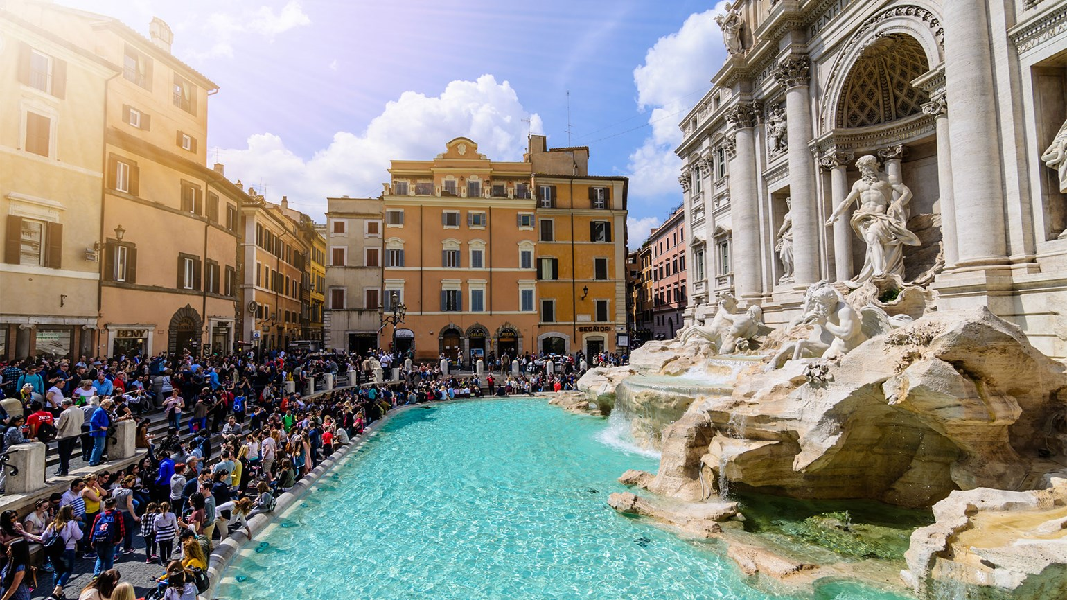 Trevi Fountain, Rome [Credit: JIMMOYHT/Shutterstock.com]