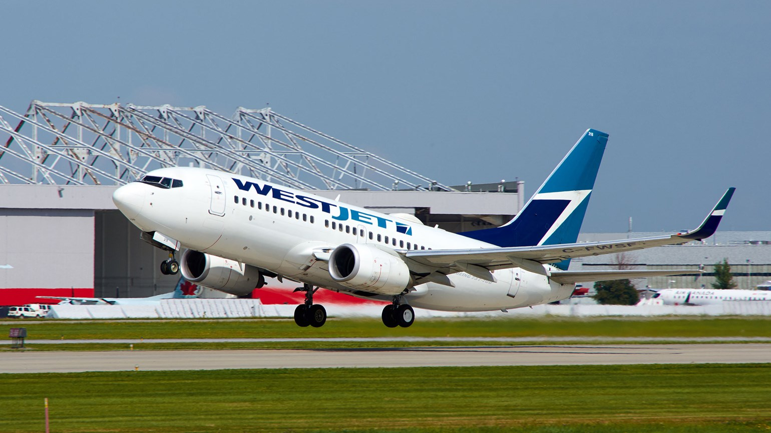 WestJet bumps up August schedule by 10%