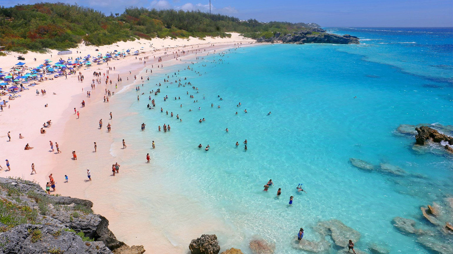 Bermuda, Horseshoe Bay Beach